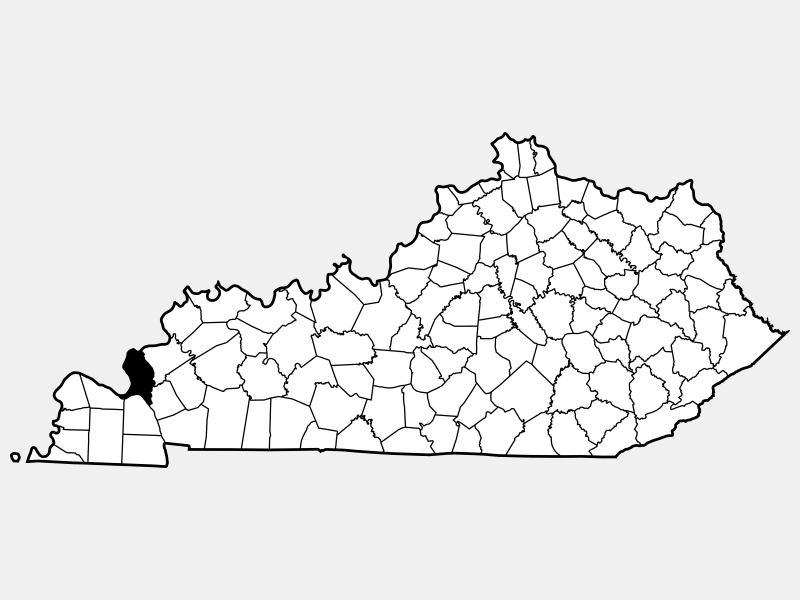 Livingston County locator map