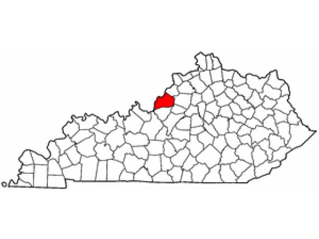 Louisville location map