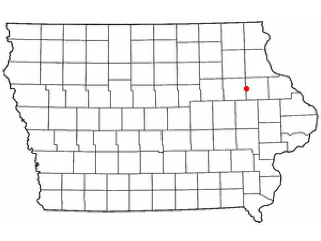 Masonville locator map