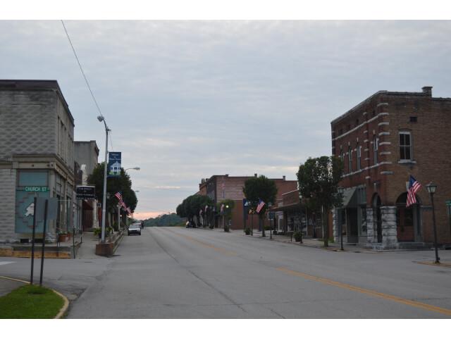 Mount Vernon downtown  Main at Church image