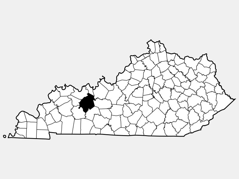 Ohio County locator map