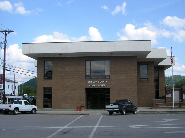 Owsley County Kentucky Courthouse image