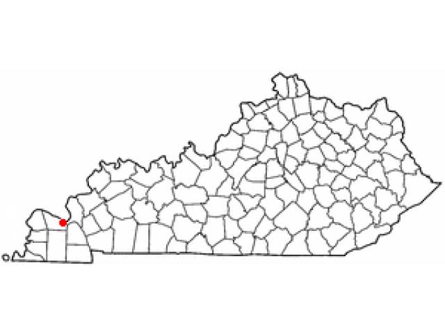 Reidland locator map