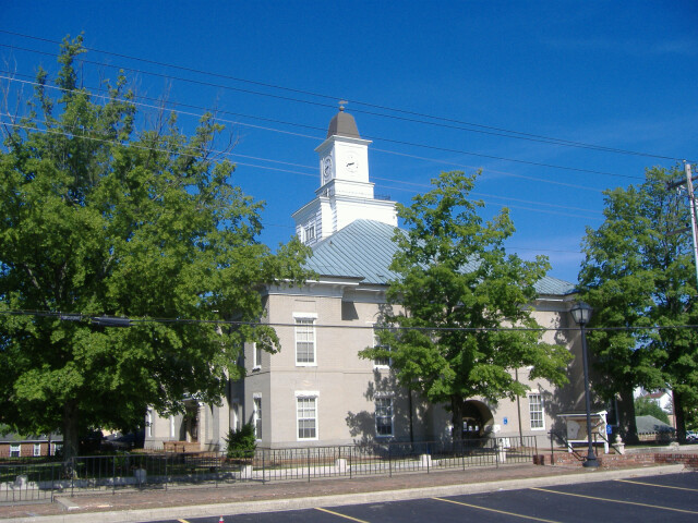 Logan County courthouse Kentucky image