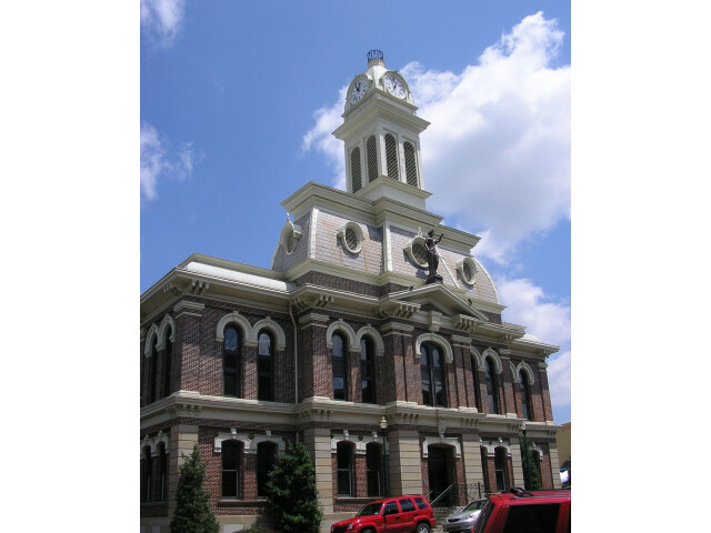 Scott county kentucky courthouse image