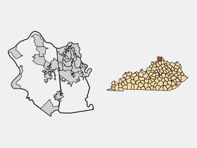 Walton locator map