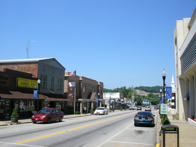 Downtown West Liberty  Kentucky image