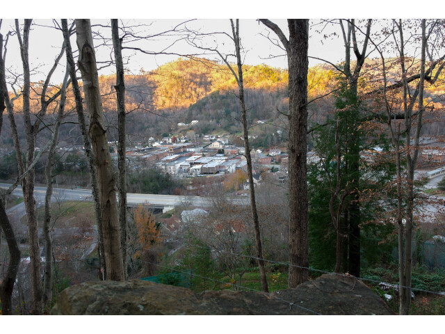 City of Whitesburg Overlook from Town Hill Trail image