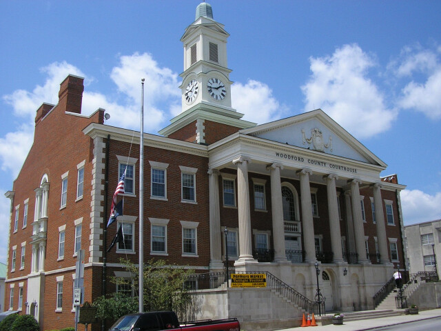 Woodford county courthouse kentucky image