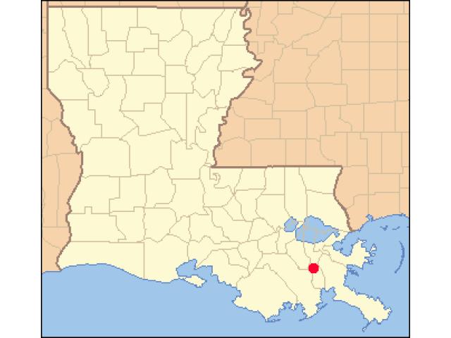 Barataria location map