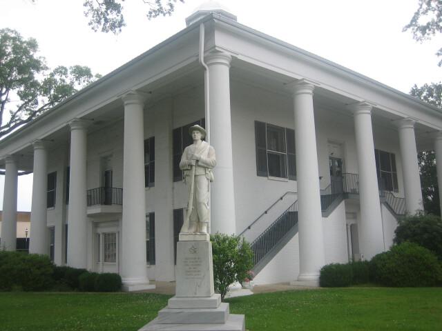 Claiborne Parish Courthouse in Homer  LA image