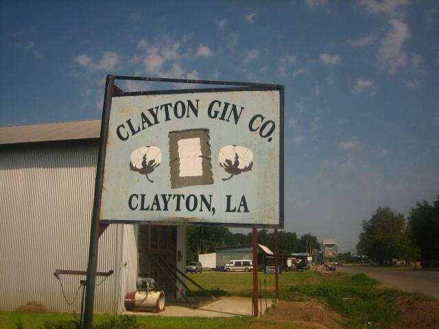 Clayton  LA  cotton gin IMG 1225 image