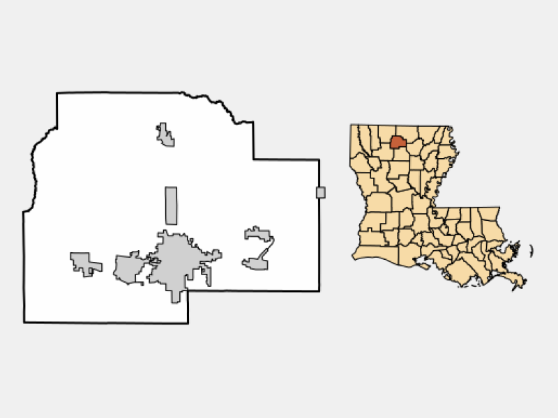 Dubach location map
