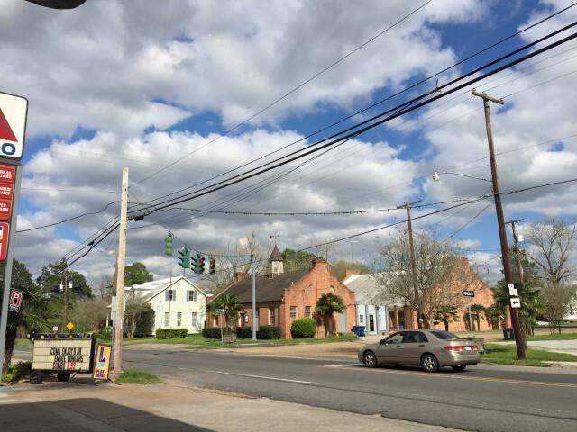 2016-03-22 16 15 56 The intersection of De Jean Street 'Louisiana State Route 103' and Main Street 'Louisiana Route 182' in Washington  Louisiana image