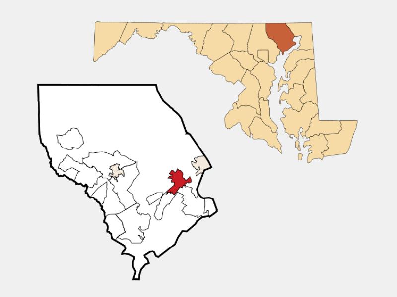 Aberdeen locator map