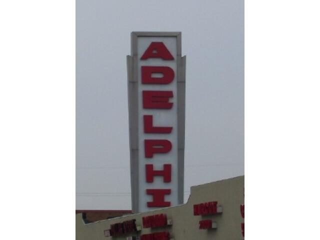 Adelphi Sign image