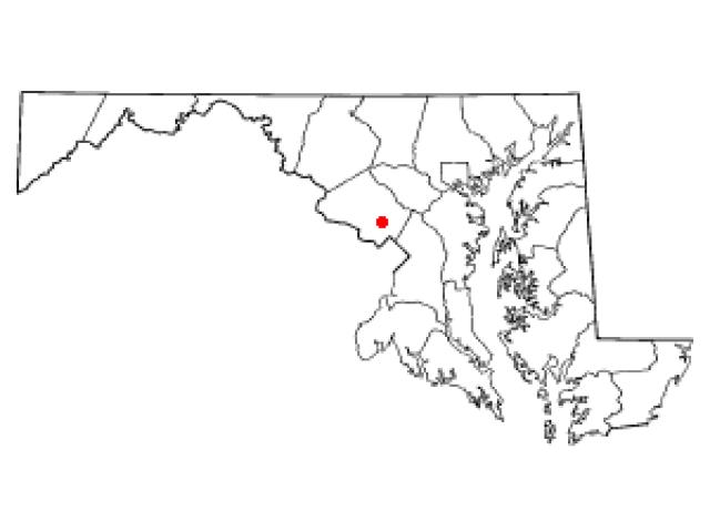 Aspen Hill locator map