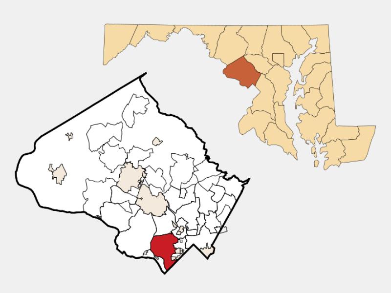 Bethesda locator map