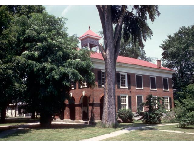 Caroline County Courthouse 'Built 1803-1809'  Bowling Green 'Caroline County  Virginia' image