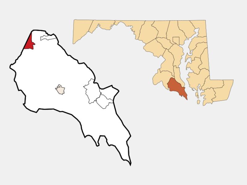Charlotte Hall location map