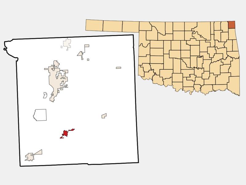 Fairland locator map
