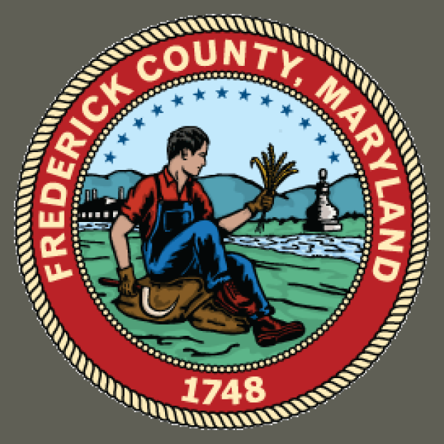 Seal of Frederick County  Maryland seal image