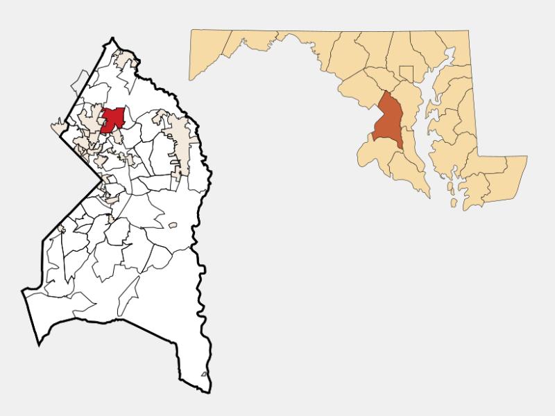 Greenbelt locator map