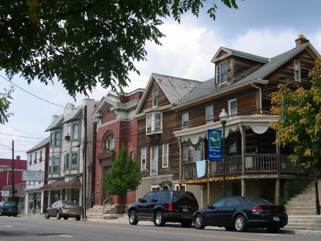 Hancock main street image