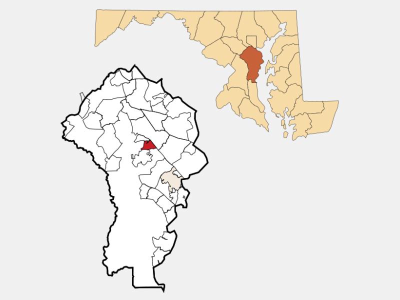 Herald Harbor location map