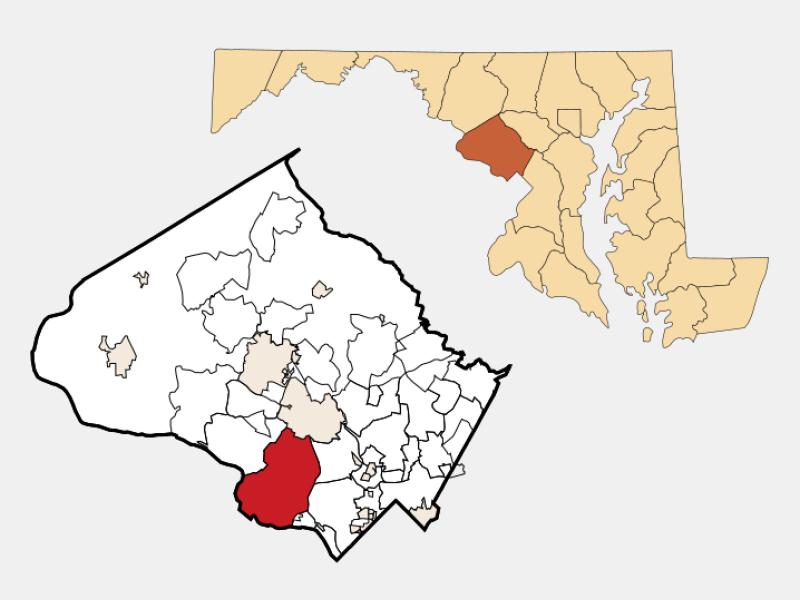 Potomac locator map
