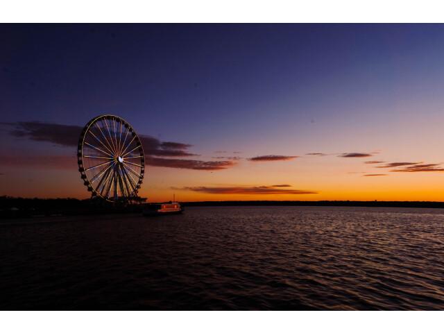 Evening at National Harbor 'Unsplash' image