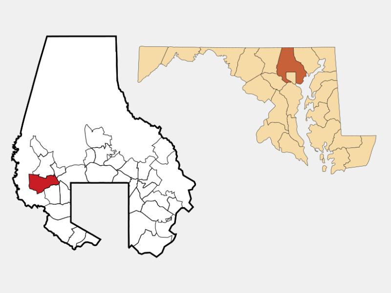 Randallstown location map