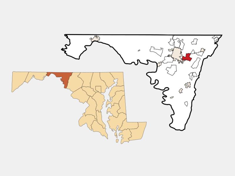 Robinwood location map