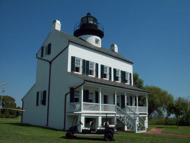Rebuilt Blackistone Lighthouse View 1 Sept 09 image
