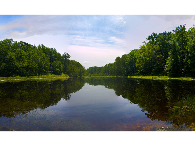 Cedarville State Forest Pond in Waldorf  Maryland image