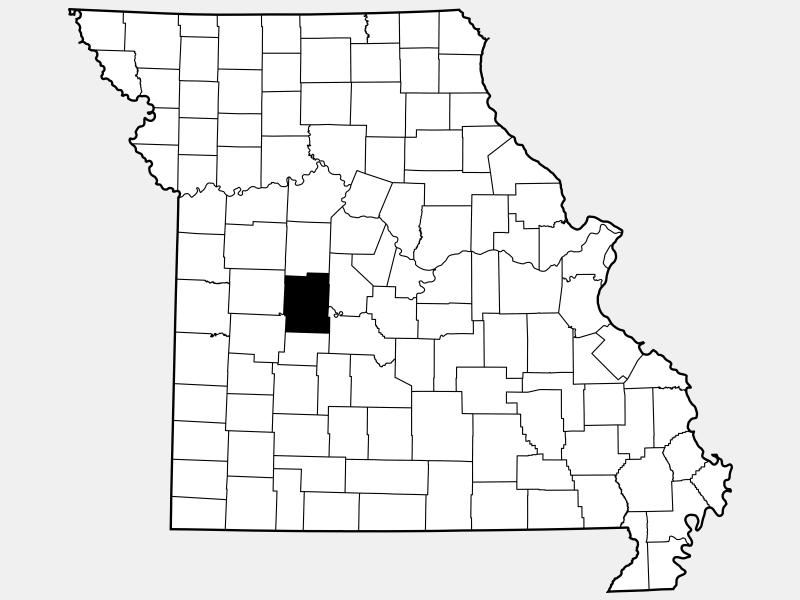 Benton County location map