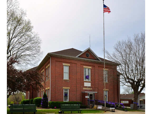Bollinger County Courthouse-rectilinear image