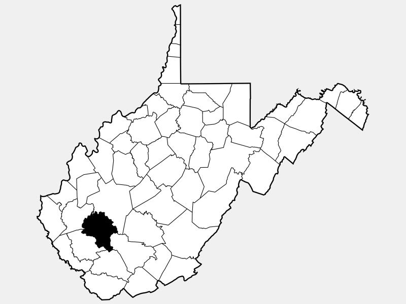 Boone County locator map