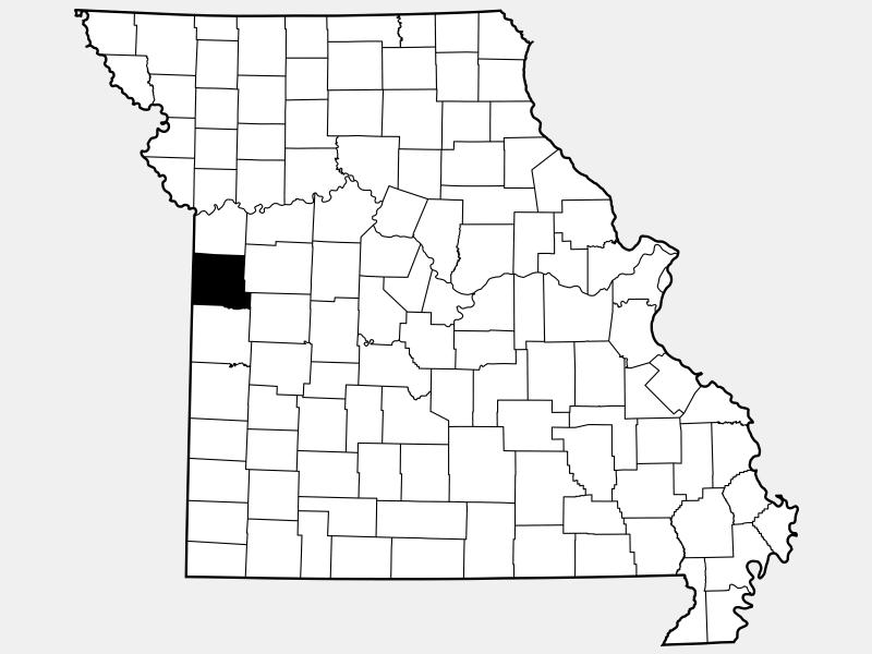 Cass County, MO locator map