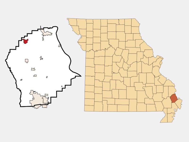 Chaffee locator map
