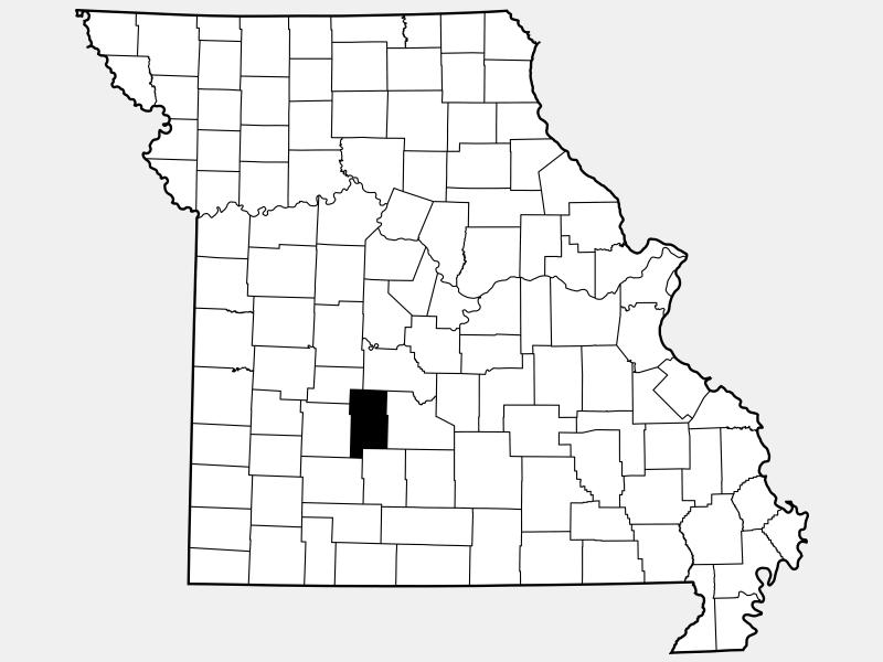 Dallas County locator map