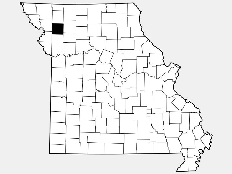 DeKalb County locator map