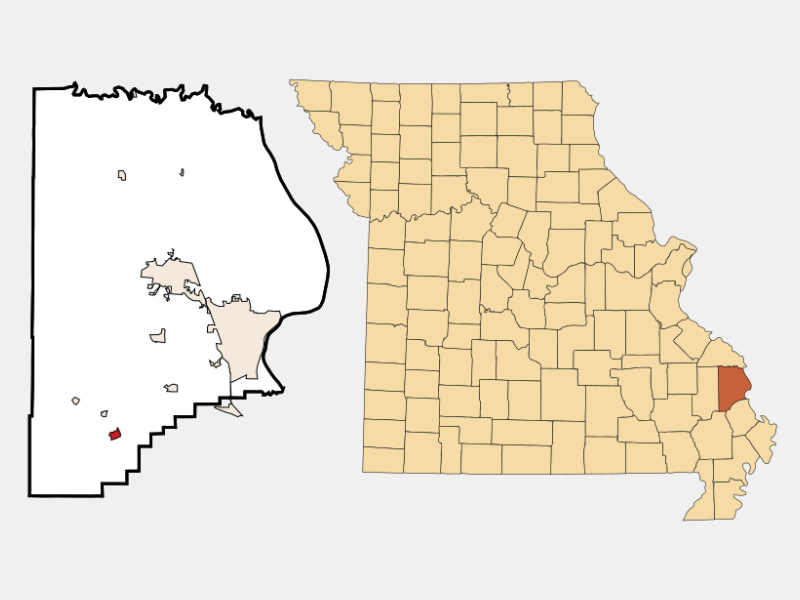 Delta locator map
