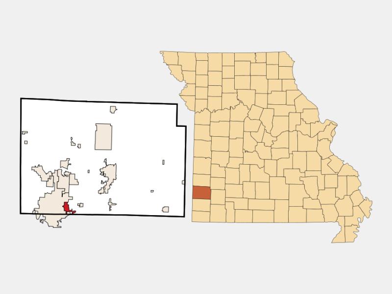 Duquesne locator map