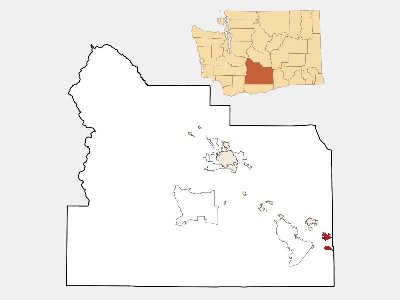 Grandview locator map