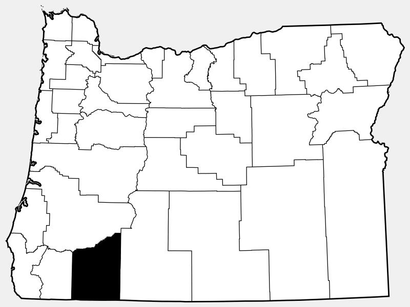 Jackson County, MO locator map