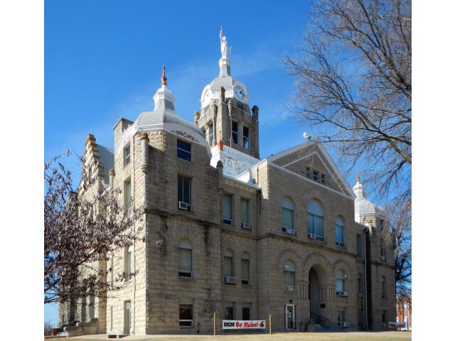 Johnson County Mo Courthouse-retouched image