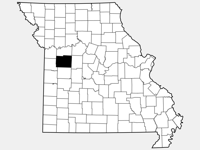 Johnson County locator map
