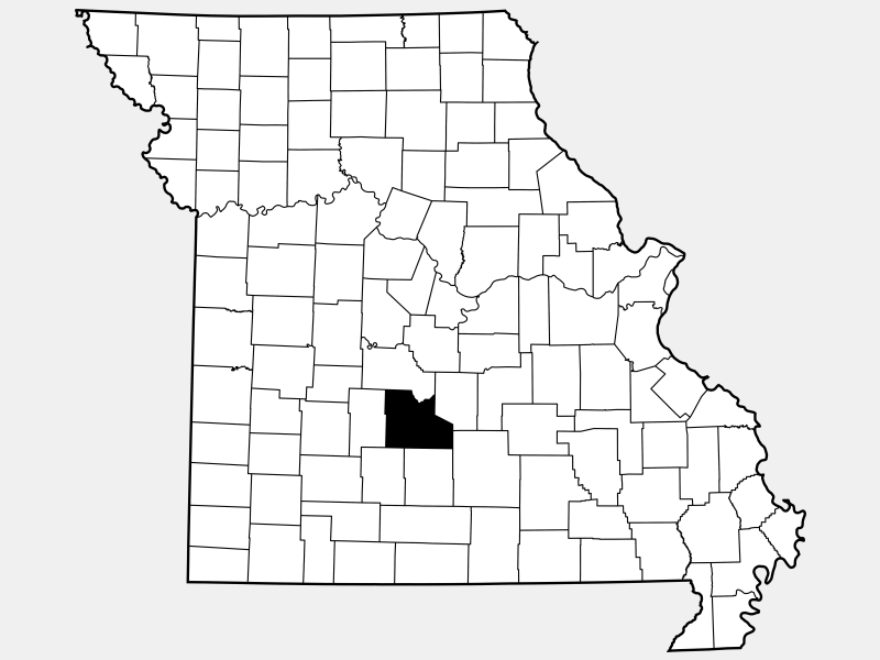 Laclede County location map