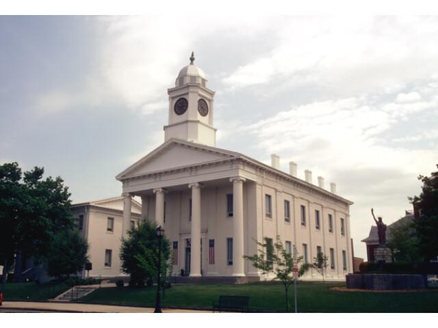 Lafayette County Courthouse  Lexington  Missouri image